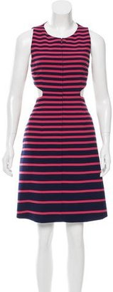 Thakoon Addition Striped Knee-Length Dress