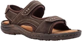 Propet Leather Quarter-Strap Sandals - Jordy