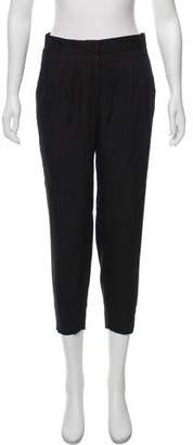 Charlotte Ronson Mid-Rise Straight Pants