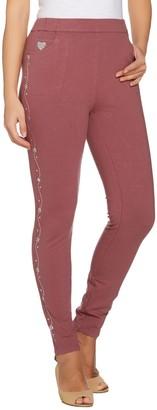 Factory Quacker Reg Slim Leg DreamJeannes Leggings with Floral Vine
