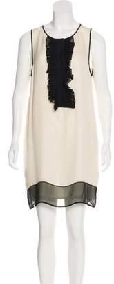Haute Hippie Silk Sleeveless Dress