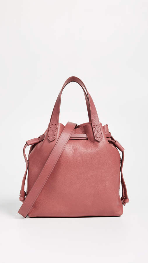 Madewell Mini Pocket Transport Tote with Drawcord