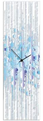 Orren Ellis Birney Splatter Wall Clock