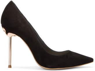 Sophia Webster Black Coco Flamingo Heels
