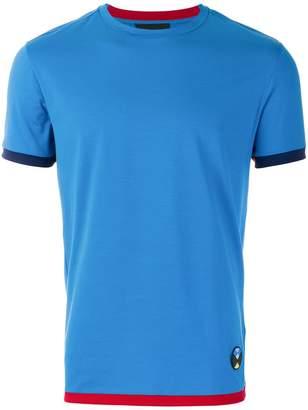 Prada contrast trim T-shirt
