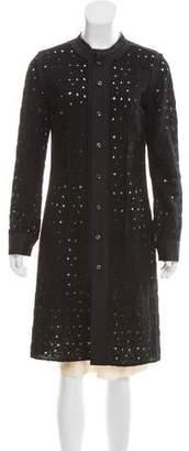 Bottega Veneta Wool Cutout Dress