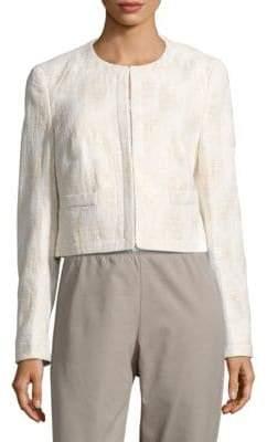 Basler Textured Long-Sleeve Jacket