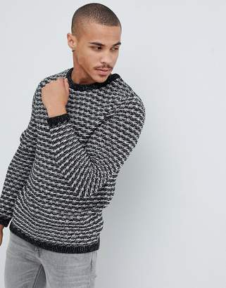 ONLY & SONS chunky knitted sweater