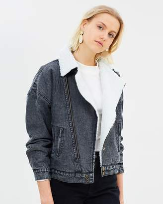 Ach'e Prue Lined Denim Jacket