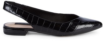 Steven by Steve Madden Leather Slingback Flats