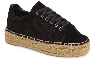 Women's Marc Fisher Ltd Mandal Perforated Platform Espadrille Sneaker $149.95 thestylecure.com