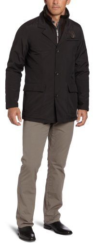 Nautica Men's Big Zip Front Coat