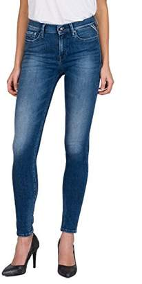 Replay Women's Joi Skinny Jeans, (Mid Blue Denim 9), W32/L32
