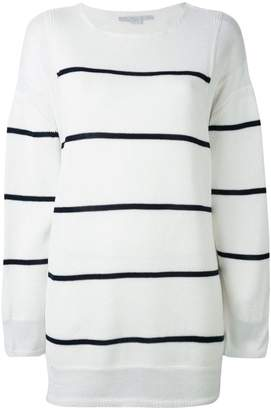 Stella McCartney deconstructed striped sweater