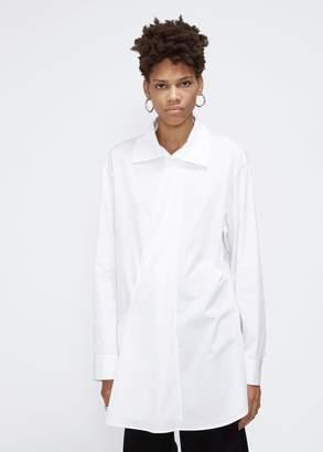 Yohji Yamamoto Y's by Long Sleeve Front Drape Shirt