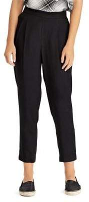 Lauren Ralph Lauren Petite Skinny Cropped Trousers