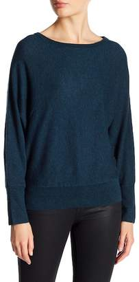Zadig & Voltaire Zoom Patch Long Sleeve Cashmere Sweater $255 thestylecure.com