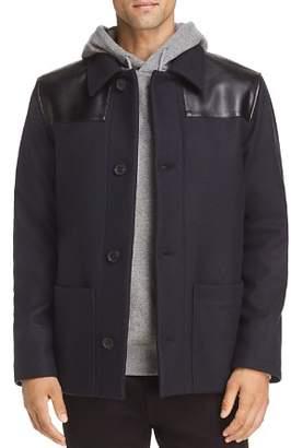 A.P.C. Wool & Leather Donkey Jacket