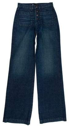 3x1 Distressed Relaxed Jeans