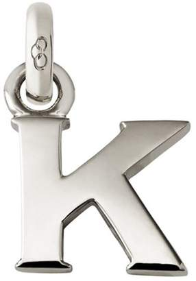 Links of London Sterling Silver Letter K Charm