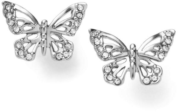 Fossil Butterfly Earrings