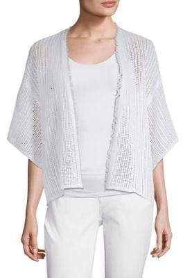 Eileen Fisher Fringe Cardigan