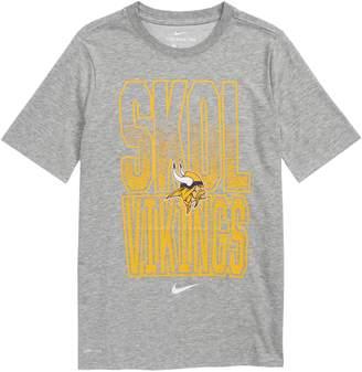 Nike NFL Logo Minnesota Vikings Dri-FIT T-Shirt