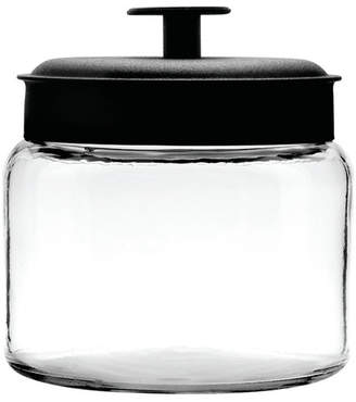 Anchor Hocking 1.9L Montana Jar & Black Metal Lid Silicone Sealed