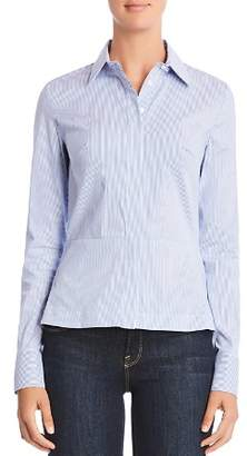 Bailey 44 Bette Lace-Up Back Striped Shirt