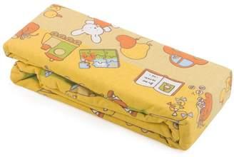 Junior Joy Cot Flannelette Sheets (Yellow)