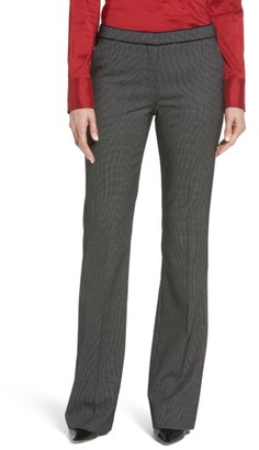 Women's Boss Tulea Stretch Wool Suit Trousers $285 thestylecure.com