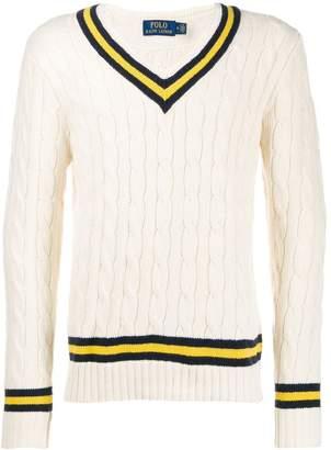 Polo Ralph Lauren (ポロ ラルフ ローレン) - Polo Ralph Lauren ケーブルニット セーター
