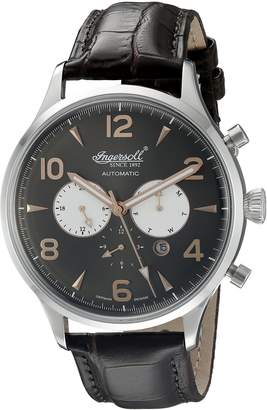 Ingersoll Men's IN1309BK Golden Age Analog Display Automatic Self Wind Watch