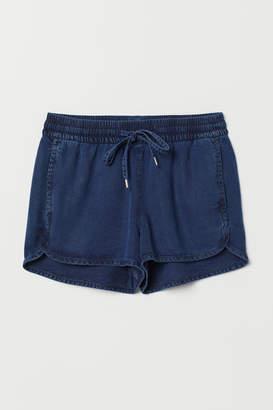 H&M Lyocell Shorts - Blue