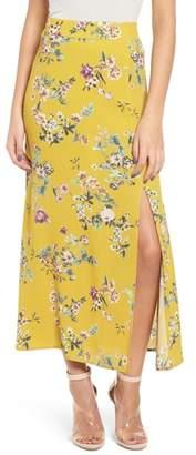 Leith High Waist Midi Skirt