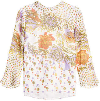 Peter Pilotto Printed Silk Blouse