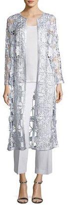 Berek Foil Crochet Drama Cardigan $198 thestylecure.com