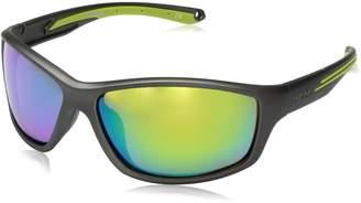 Body Glove Fl 25 Wrap Sunglasses Rubberized Graphite Metallic 64 mm