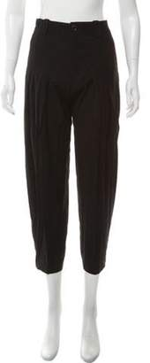 Balenciaga Casual Straight-Leg Pants Black Casual Straight-Leg Pants