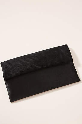 Anthropologie Mixed Material Clutch