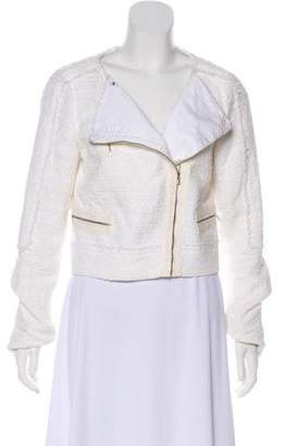 J Brand Tweed Crop Blazer
