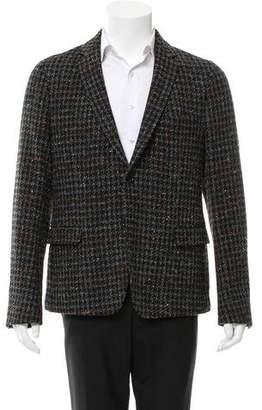 Gucci Tweed Wool Blazer