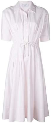 Thom Browne University Stripe Drawstring Dress