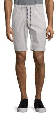 Jet Lag Stretch Cotton Flat Front Shorts