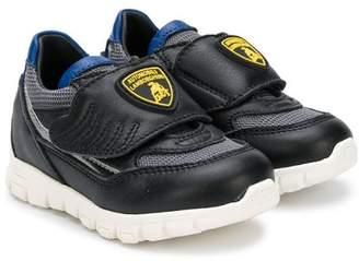 Bumper Lamborghini patch sneakers