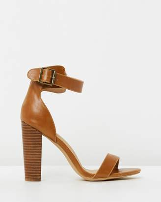 Spurr Quill Buckle Heels