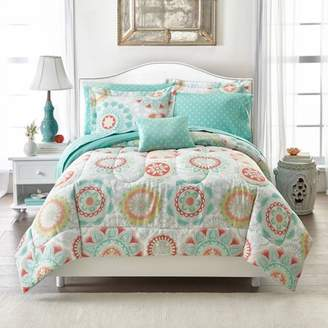 Mainstays Groovy Medallion Bed-in-A-Bag