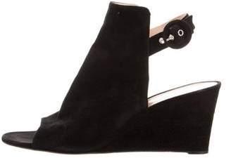 Gianvito Rossi Glove Wedge Sandals