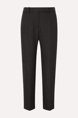 Haider Ackermann Grain De Poudre Wool Tapered Pants - Black