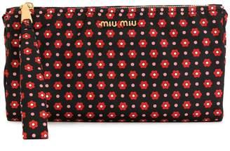 Miu Miu (ミュウミュウ) - Miu Miu フローラル ポーチ